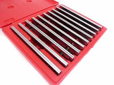 $44.99 • Buy 10 Pair Matched Machinist Parallels 1/8  Thick X 6  Long ½  Through 1-5/8  Wide