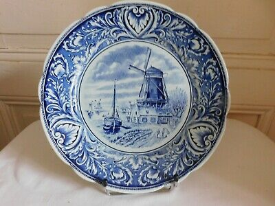$118.26 • Buy Delfts Royal Sphinx Maastricht Plate Mill Sailboats And Thinking P Regout