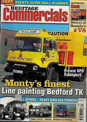 £2 • Buy 2012 JULY 56361 Heritage Commercials Magazine  LINE PAINTING BEDFORD TK