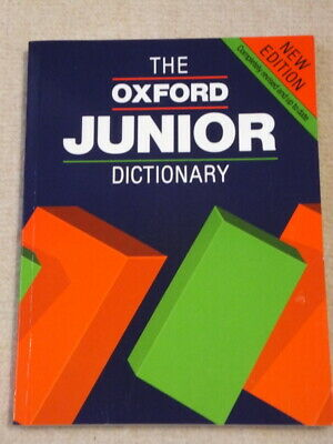 £6 • Buy The Oxford Junior Dictionary, 1990 Edition, Compiled By Rosemary Sansome