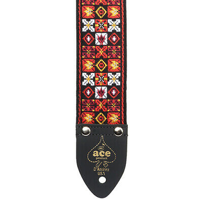 $ CDN27.56 • Buy D'Andrea ACE 1 Vintage Reissue X's And O's Adjustable 2  Wide Guitar Strap