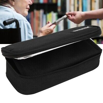 Insulin Cooling Bag Protect Refrigerated Ice Pack Medical Cooler Travel Case • 9.84£