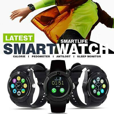 AU19.33 • Buy New Bluetooth Smart Watch With Touch Screen Camera Mic Text Call Smartwatch