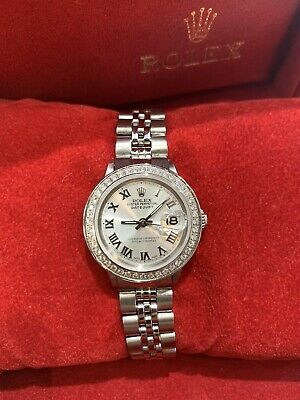 $ CDN3917.95 • Buy Ladies Rolex Oyster Perpetual Datejust Watch 6517 Stainless Steel 26mm Silver