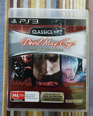 AU18 • Buy Devil May Cry HD Collection (Sony PlayStation 3, 2012) AUS
