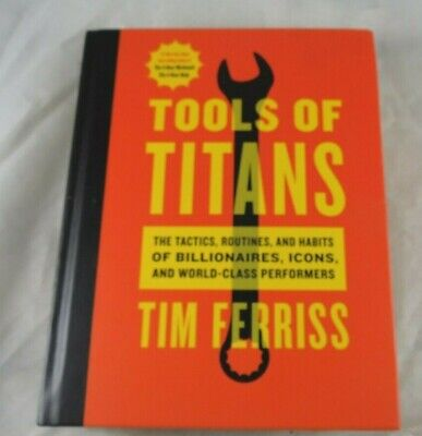 AU19.38 • Buy Tools Of Titans By Tim Ferriss HardcoverBook Timothy
