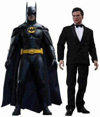 $ CDN1137.64 • Buy Movie Masterpiece Batman Returns BATMAN & BRUCE WAYNE 1/6 Action Figure Hot Toys
