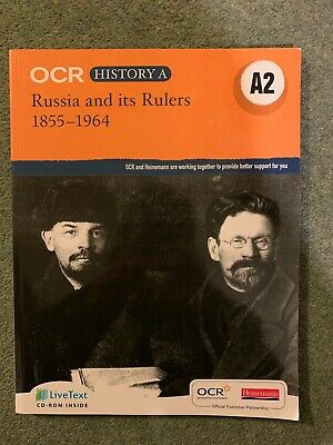 OCR Russia And It's Rulers 1855-1964 • 15£