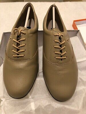 $ CDN37.48 • Buy NEW Easy Spirit Motion WIDE Size 9 EE Leather Lace Up Oxfords Tan Wheatfield  Sw