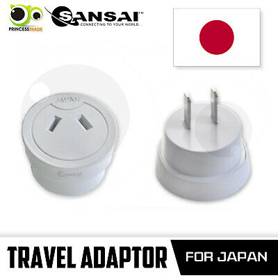 AU18.90 • Buy Sansai Travel Adaptor Australia/NZ To Japan
