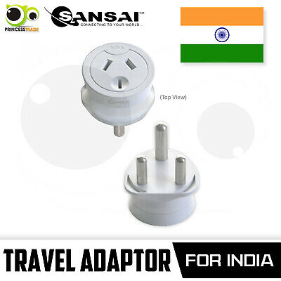 AU18.90 • Buy Sansai Travel Adaptor Australia/NZ To India