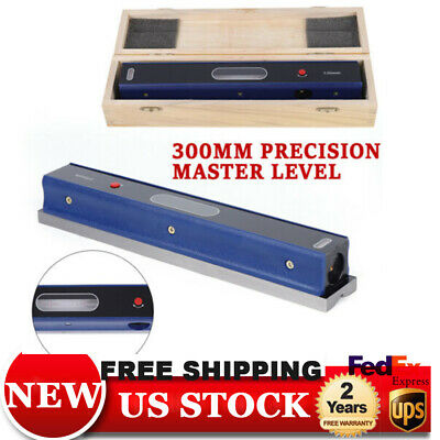 $75 • Buy 12  MASTER PRECISION LEVEL FOR MACHINIST TOOL 0.02mm/m USA  Carbon Steel
