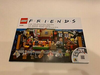 LEGO IDEAS FRIENDS 21319 Central Perk INSTRUCTIONS MANUAL ONLY • 11.90$