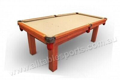 AU8581 • Buy Melbourne Special - 7 Foot Slate Red Back Pool Table Floor