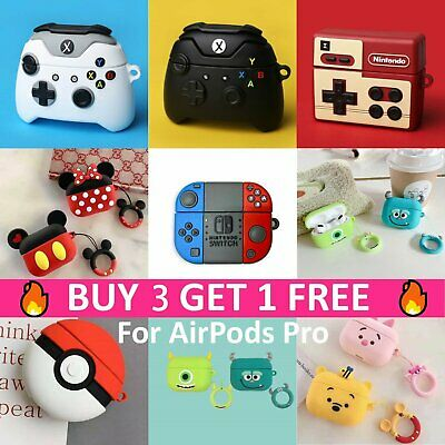 AU13.78 • Buy Cartoon Game Design For Apple AirPods Pro Silicone Case Protective Cover Airpod