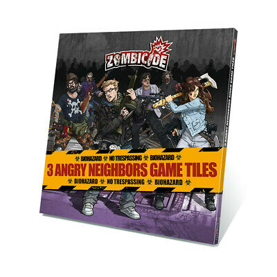 AU15.99 • Buy Zombicide: Angry Neighbours Game Tiles