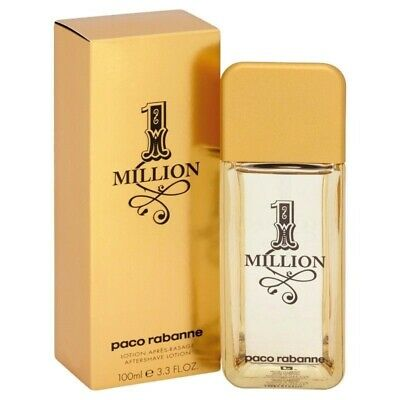 AU78.90 • Buy Paco Rabanne 1 Million After Shave Lotion 100ml (M) Mens 100% Genuine (New)
