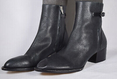 AU299.30 • Buy Alexander Wang Womens Boots Ankle Side Zip Black 41 Italy