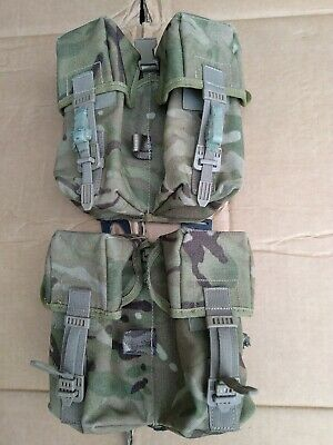 £9.99 • Buy Genuine Issue MTP PLCE Double Ammo Pouch X 2 - Used