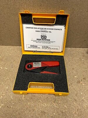 British Telecom Pliers Crimping Tool 19A Made By MILES ROYSTON LTD • 49.99£