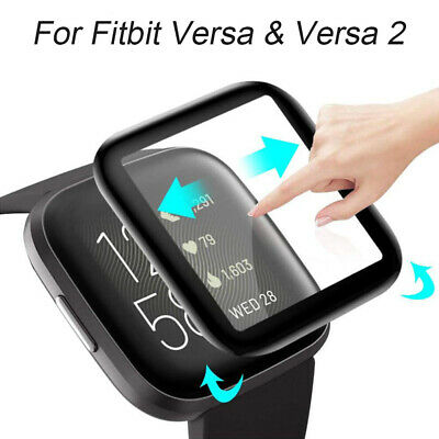 $ CDN2.65 • Buy Film Screen Protector Soft Fibre Glass Guard Cover For Fitbit Versa&Versa 2