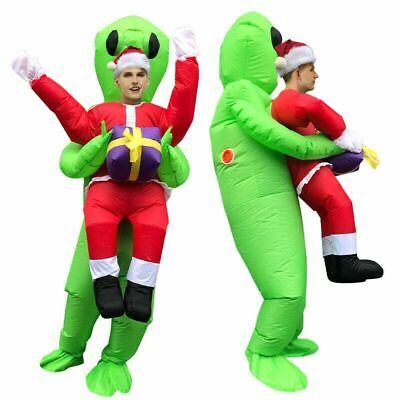$34.55 • Buy Inflatable Alien ET Costume Christmas Funny Fancy Dress Party Cosplay Outfit