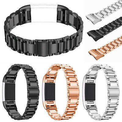 AU9.99 • Buy For Fitbit Charge 2 Stainless Steel Watch Band Bracelet Strap Metal Wristband AU
