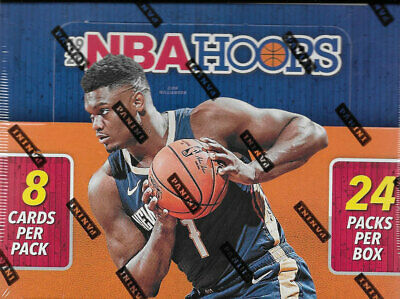 $129.99 • Buy 2019 2020 Hoops NBA Basketball Retail Box 24 Packs With Autograph Inserts Zion ?