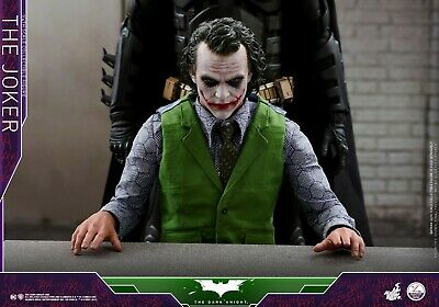 $ CDN901.43 • Buy HOT TOYS QS010 The Dark Knight Batman The Joker Heath Ledger 1/4 Figure IN STOCK
