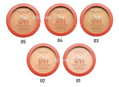 Bourjois Air Mat Matte Finish Compact Powder --Choose Shade--- • 7.99£