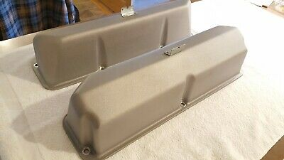$295 • Buy Ford 427 FE 428 SCJ Valve Covers Blue Thunder Pentroof Style R Code