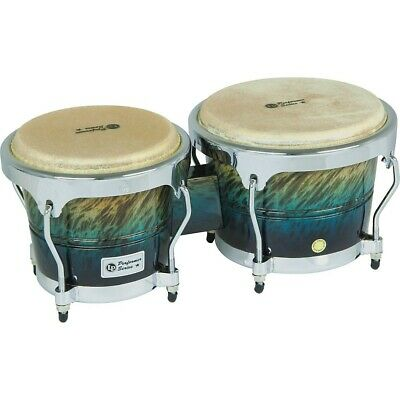 LP Performer Series Bongos With Chrome Hardware Blue Fade • 139.99$