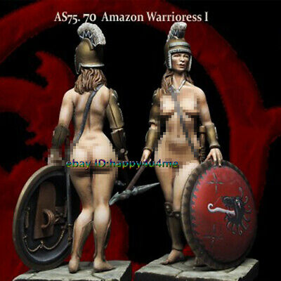 1/24 Ancient Sexy Female Warrior Figure Model Unpainted Garage Kits Unassembled • 18.99£