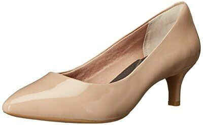 Rockport Women's Total Motion Kalila Dress Pump, Warm Taupe Patent, 9.5 N US • 45.87£
