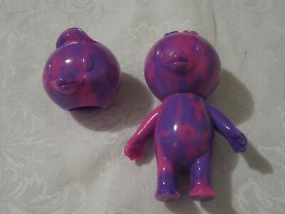 $ CDN66.24 • Buy CometDebris Koji Harmon Japan Blank Kappa Kid With Extra Head Pink Purple Marble