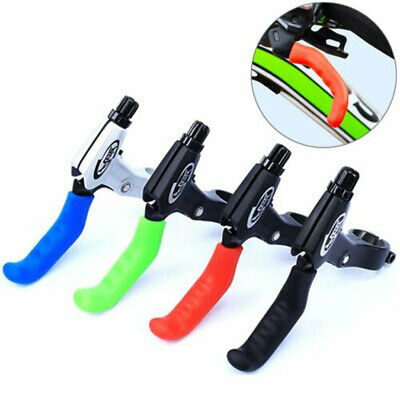 AU9.99 • Buy 1 Pair Silicone MTB BMX Bike Bicycle Brake Lever Grips Protector Sleeves Covers