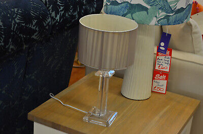 £19 • Buy Table Lamp Perspex Traditional Shape Light Prototype