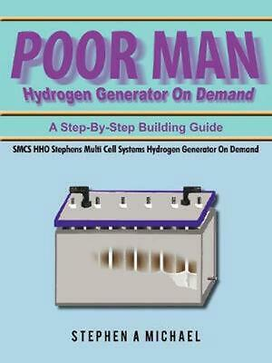 AU60.49 • Buy Poor Man Hydrogen Generator On Demand: Smcs Hho Stephens Multi Cell Systems Hydr