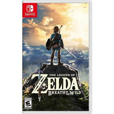 Legend Of Zelda: Breath Of The Wild - Nintendo Switch (NEW) • 49.99$