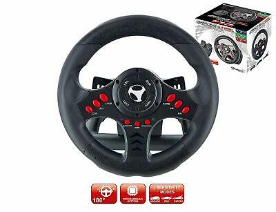 $110.99 • Buy Xbox One S Steering Wheel And Pedal Set Gaming Racing Driving Simulator PS4 PS3