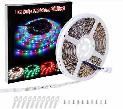 LED Strip Light Only Color Changing Lamps Indoor Room Good For Party -USA STOCK • 11.66$