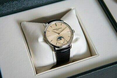 Frederique Constant Slimline Moonphase Automatic Watch FC-705BG4S6 In House • 1,134.28$