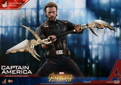 $ CDN534.29 • Buy Hot Toys Avengers 3 Infinity War Captain America (Movie Promotion)1/6 MMS481
