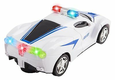 $11.99 • Buy Transformers Robot Police Car Toy Lights Sounds Bump And Go Action Gift Toy Kids