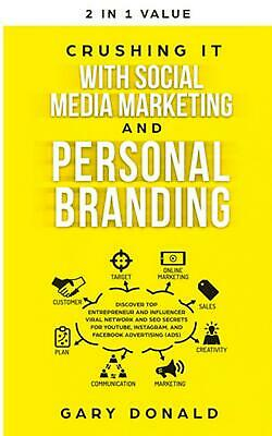 AU43.05 • Buy Crushing It With Social Media Marketing And Personal Branding: Discover Top Entr