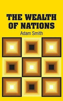 AU62.03 • Buy Wealth Of Nations By Adam Smith (English) Hardcover Book Free Shipping!