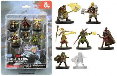 AU47.39 • Buy Dungeons And Dragons - Icons Of The Realms Epic Level Starter - WizKidz Games Fr