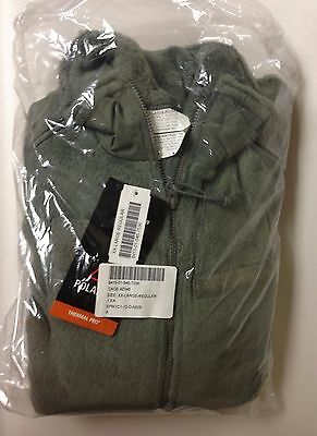 US Military Issue Polartec Thermal Pro L3 Gen 3 Fleece Jacket Size:XL- Reg NEW • 76.95$