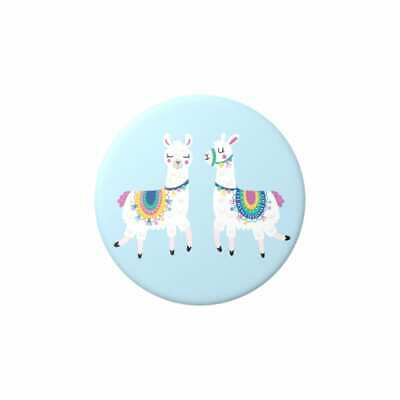 AU16 • Buy POPSOCKET - POPSOCKETS - Llama Blue -Swappable Top- ORIGINAL POPGRIP