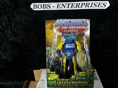 $30 • Buy Masters Of The Universe Classics  Eternia Fearless Photog Action Figure MAS-12